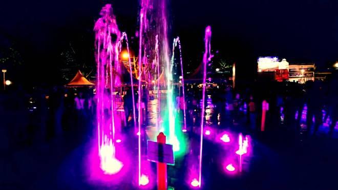 water show at cikapundung park